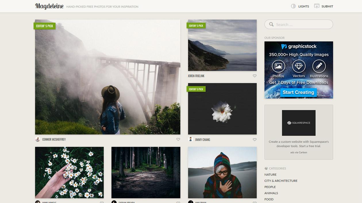 Stock Photography - Magdeleine