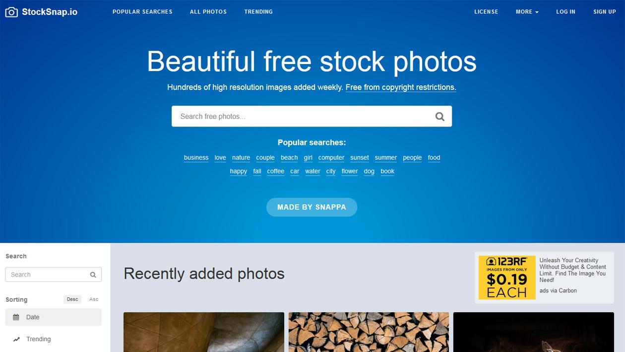 Stock Photography - StockSnap
