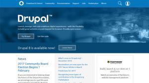 Content Management Systems - Drupal